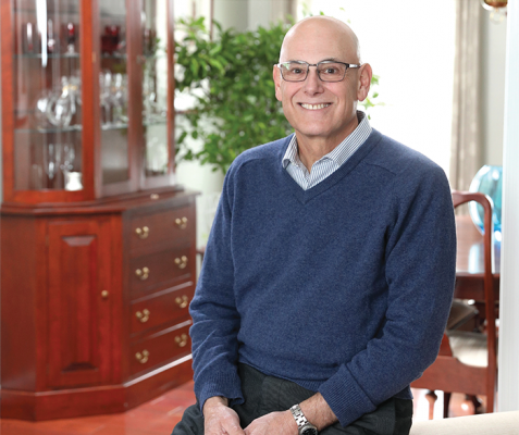 NCI clinical trial participant, Jeff Larioni.