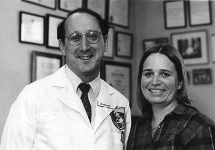 Steven Rosenberg, M.D., Ph.D., with Linda Taylor