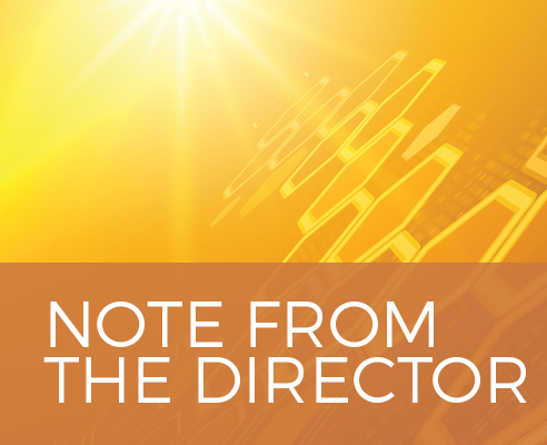 Note from the Director graphic