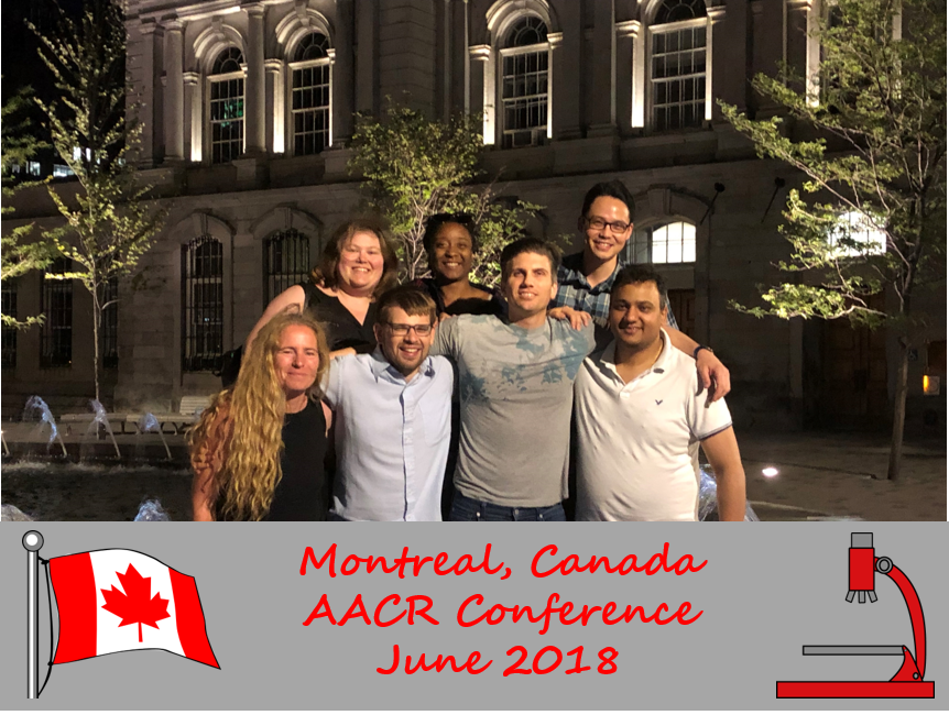 AACR Conference, Montreal, Canada - June 2018