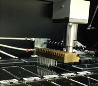 robotic microarrayer