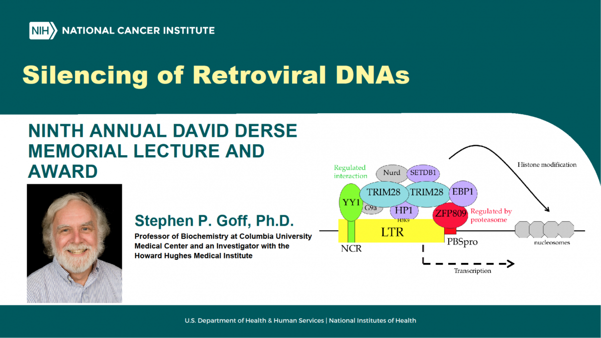 Banner image for Ninth Annual David Derse Memorial Lecture and Award