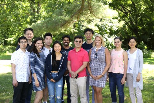 The Park lab group at summer picnic 2019