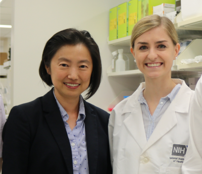Dr. Jing Wu and Madison Butler