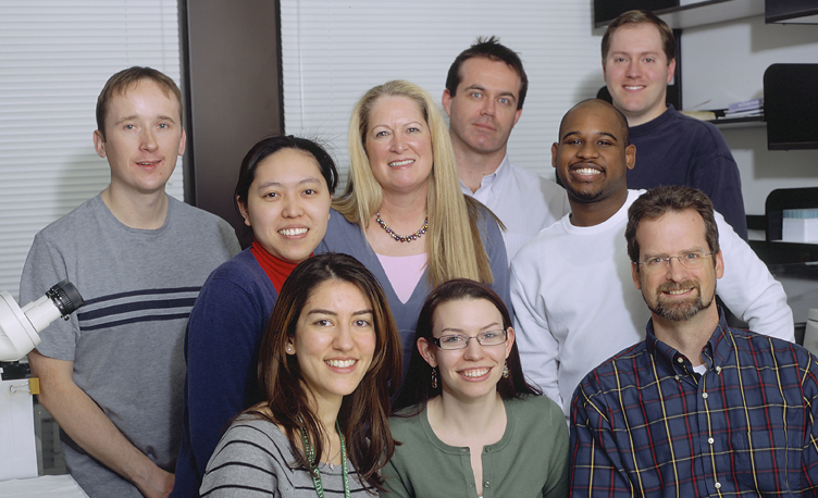 Investigators from the Laboratory of Cancer Biology and Genetics, circa 2009.