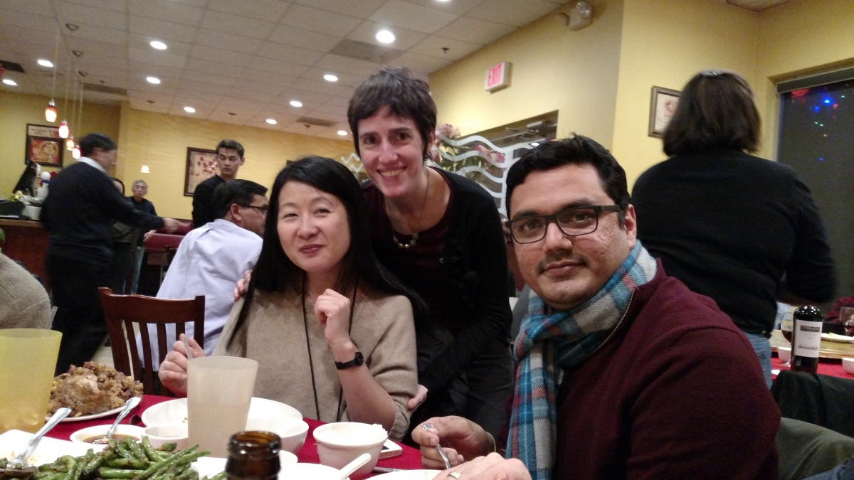 LGI Christmas Party - December 2016 - Pacifica Cafe, Gaithersburg