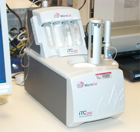 iTC200 Isothermal Titration Calorimeter (MicroCal)