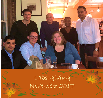 Labs-giving - November 2017
