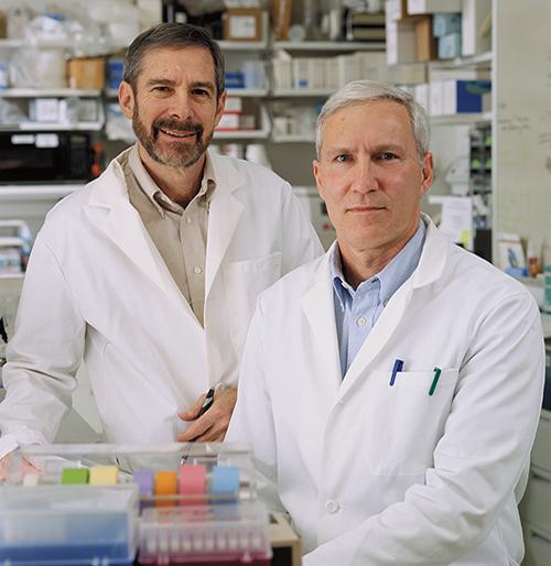 Douglas Lowy, M.D., and John Schiller, Ph.D.