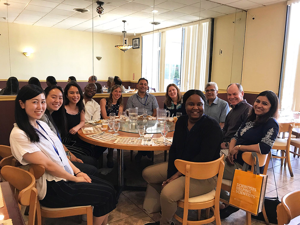 Farewell lunch August 10, 2018