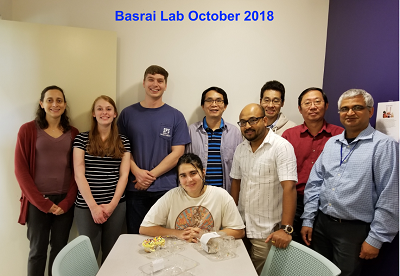 Munira Basrai Lab October 2018