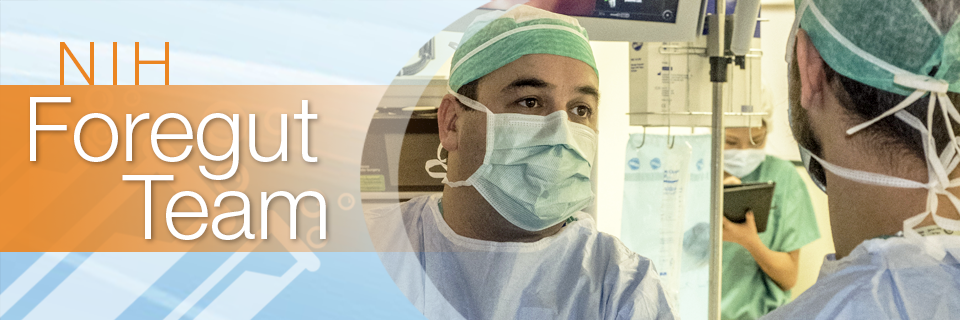 NIH Foregut Team Banner