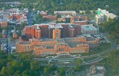 NIH Clinical Center - aerial photo