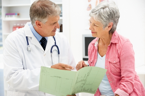 doctor and patient discuss options