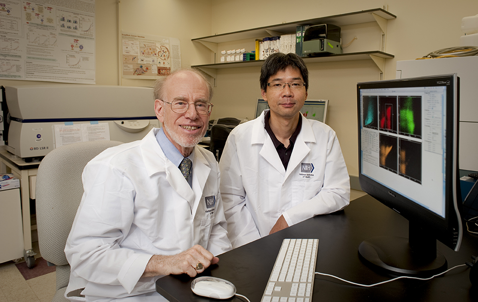 Photo of Jay A. Berzofsky M.D., Ph.D., and Masaki Terabe, Ph.D.