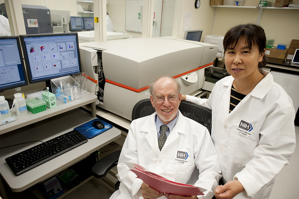 Photo of Jay A. Berzofsky M.D., Ph.D., and Yongjun Sui, Ph.D.