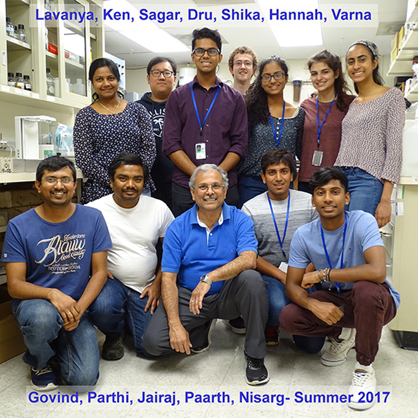 Acharya Lab - Summer 2017