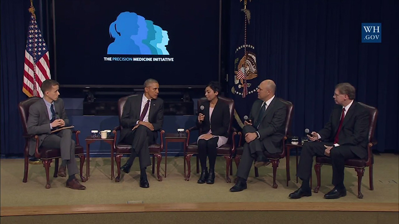 Dr. Linehan speaks at White House Precision Medicine Initiative Summit