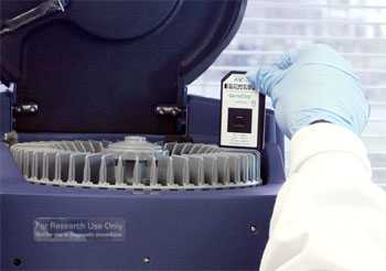 Gene Chip is one of five microarray platforms used to determine gene expression.