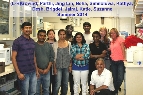 Acharya Lab - Summer 2014