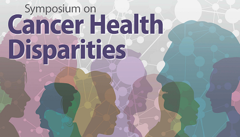 Cancer Health Disparities with faces in profile