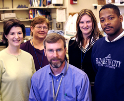 Investigator Dr. Daniel McVicar from the Laboratory of Experimental Immunology, along with several team members circa 2006.